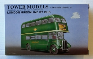TOWER MODELS 1/76 LONDON GREENLINE RT BUS