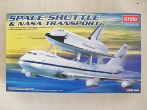 ACADEMY  12708 SPACE SHUTTLE   NASA TRANSPORT 1/288