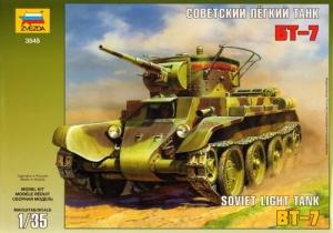 ZVEZDA 1/35 3545 SOVIET BT-7