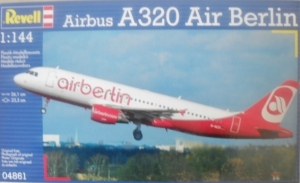 REVELL 1/144 04861 AIRBUS A320 AIR BERLIN