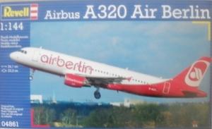 REVELL 1/144 04861 AIRBUS A320 AIR BERLIN