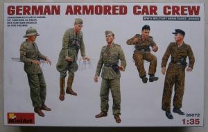 MINIART 1/35 35072 GERMAN ARMOURED CAR CREW