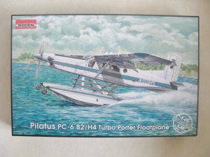 RODEN 1/48 445 PILATUS PC-6 B2/H4 TURBO PORTER FLOATPLANE