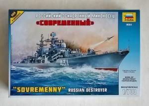 ZVEZDA 1/700 9054 RUSSIAN HEAVY DESTROYER SOVREMENNY