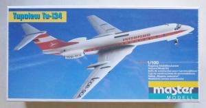 MASTERMODEL 1/100 1009 TUPOLEV Tu-134
