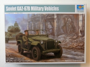 TRUMPETER 1/35 02346 SOVIET GAZ-67B MILITARY VEHICLES