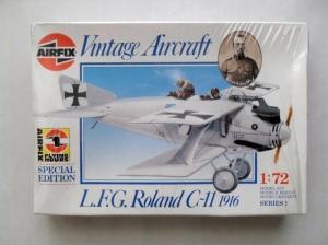 AIRFIX 1/72 01077 ROLAND C-11 1916