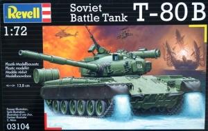 REVELL 1/72 03104 SOVIET BATTLE TANK T-80B
