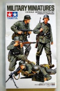 TAMIYA 1/35 35293 GERMAN INFANTRY FRENCH CAMPAIGN