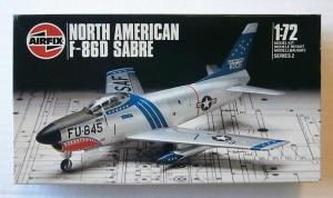 AIRFIX 1/72 02061 NORTH AMERICAN F-86D SABRE