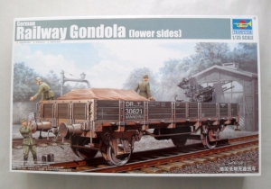 TRUMPETER 1/35 01518 GERMAN RAILWAY GONDOLA LOW SIDES