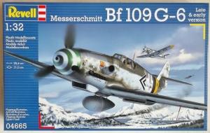 REVELL 1/32 04665 MESSERSCHMITT Bf 109G-6 LATE   EARLY VERSION