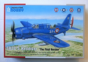 SPECIAL HOBBY 1/72 72350 SB2C-5 HELLDIVER THE FINAL VERSION