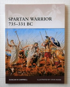 OSPREY WARRIOR  163. SPARTAN WARRIOR 735-331 BC