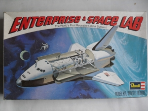 REVELL 1/144 H200 ENTERPRISE   SPACE LAB