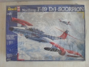 REVELL 1/48 4568 NORTHROP F-89 D/J SCORPION