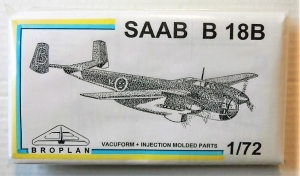 BROPLAN 1/72 SAAB B 18B