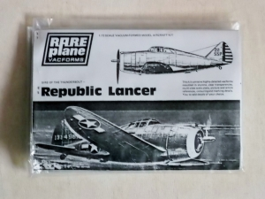 RAREPLANE 1/72 REPUBLIC P-43A LANCER