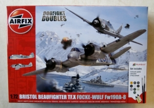 AIRFIX 1/72 50171 BRISTOL BEAUFIGHTER TF.X   FOCKE WULF Fw 190A-8
