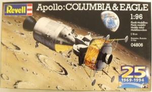 REVELL 1/96 04806 APOLLO COLUMBIA AND EAGLE 25th ANNIVERSARY