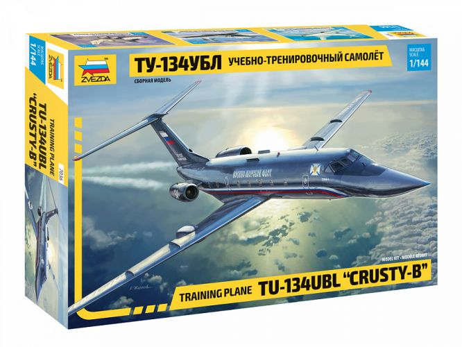 ZVEZDA 1/144 7036 TU-134UBL CRUSTY B