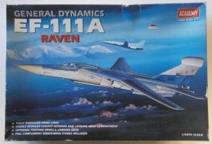 ACADEMY 1/48 1676 GENERAL DYNAMICS EF-111A RAVEN
