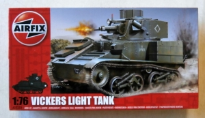 AIRFIX 1/76 02330 VICKERS LIGHT TANK Mk.VI A/B/C