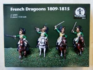 WATERLOO 1/32 AP091 FRENCH DRAGOONS 1809-1815