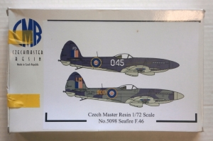 CZECH MASTER RESIN 1/72 5098 SUPERMARINE SEAFIRE F.46