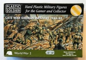 PLASTIC SOLDIER 1/100 15002 LATE WAR GERMAN INFANTRY 1943-45