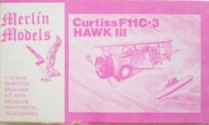 MERLIN 1/72 CURTISS F11C-3 HAWK III