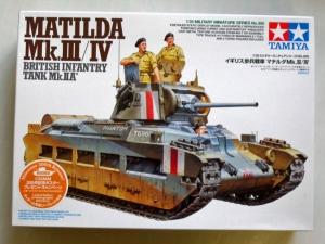 TAMIYA 1/35 35300 MATILDA Mk.III/IV BRITISH INFANTRY TANK