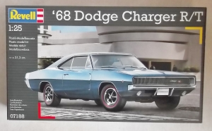 REVELL 1/25 07188 68 DODGE CHARGER R/T