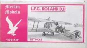 MERLIN 1/72 08 L.F.G. ROLAND D.II