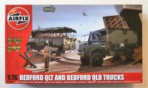 AIRFIX 1/76 03306 BEDFORD QLT   QLD TRUCKS