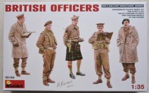 MINIART 1/35 35165 BRITISH OFFICERS