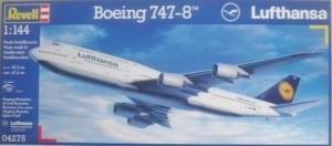 REVELL 1/144 04275 BOEING 747-8 LUFTHANSA