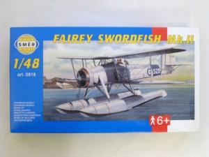 SMER 1/48 0818 FAIREY SWORDFISH Mk.II