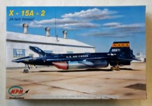 MPM 1/72 72537 X-15A-2 HI-TECH VERSION