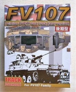 AFV CLUB 1/35 35294 FV107 SCIMITAR CVR T  WORKABLE TANK TRACK  LATE