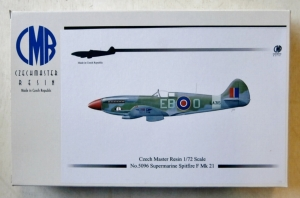 CZECH MASTER RESIN 1/72 5096 SUPERMARINE SPITFIRE F.21