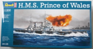 REVELL 1/1200 05135 HMS PRINCE OF WALES