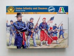 ITALERI 1/72 6012 UNION INFANTRY   ZOUAVES