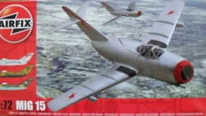 AIRFIX 1/72 02037 MiG 15