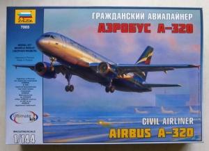 ZVEZDA 1/144 7003 CIVIL AIRLINER AIRBUS A320