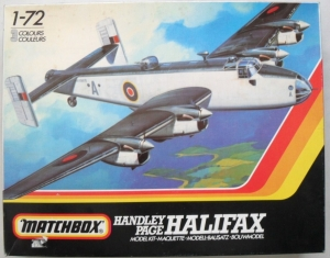 MATCHBOX 1/72 PK-604 HANDLEY PAGE HALIFAX B.Mk.I/II