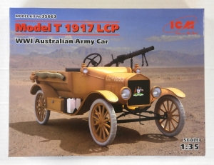 ICM 1/35 35663 MODEL T 1917 LCP WWI AUSTRALIAN ARMY CAR