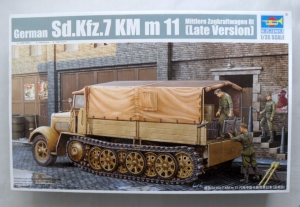 TRUMPETER 1/35 01507 Sd.Kfz 7 KM m 11 LATE