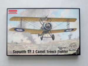 RODEN 1/72 052 SOPWITH TF.1 CAMEL TRENCH FIGHTER