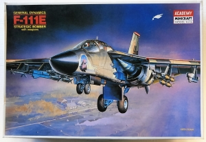 ACADEMY 1/48 1689 GENERAL DYNAMICS F-111E WITH WEAPONS